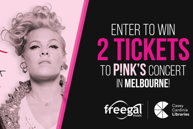 WIN a double pass to see P!NK's Beautiful Trauma World Tour Concert!