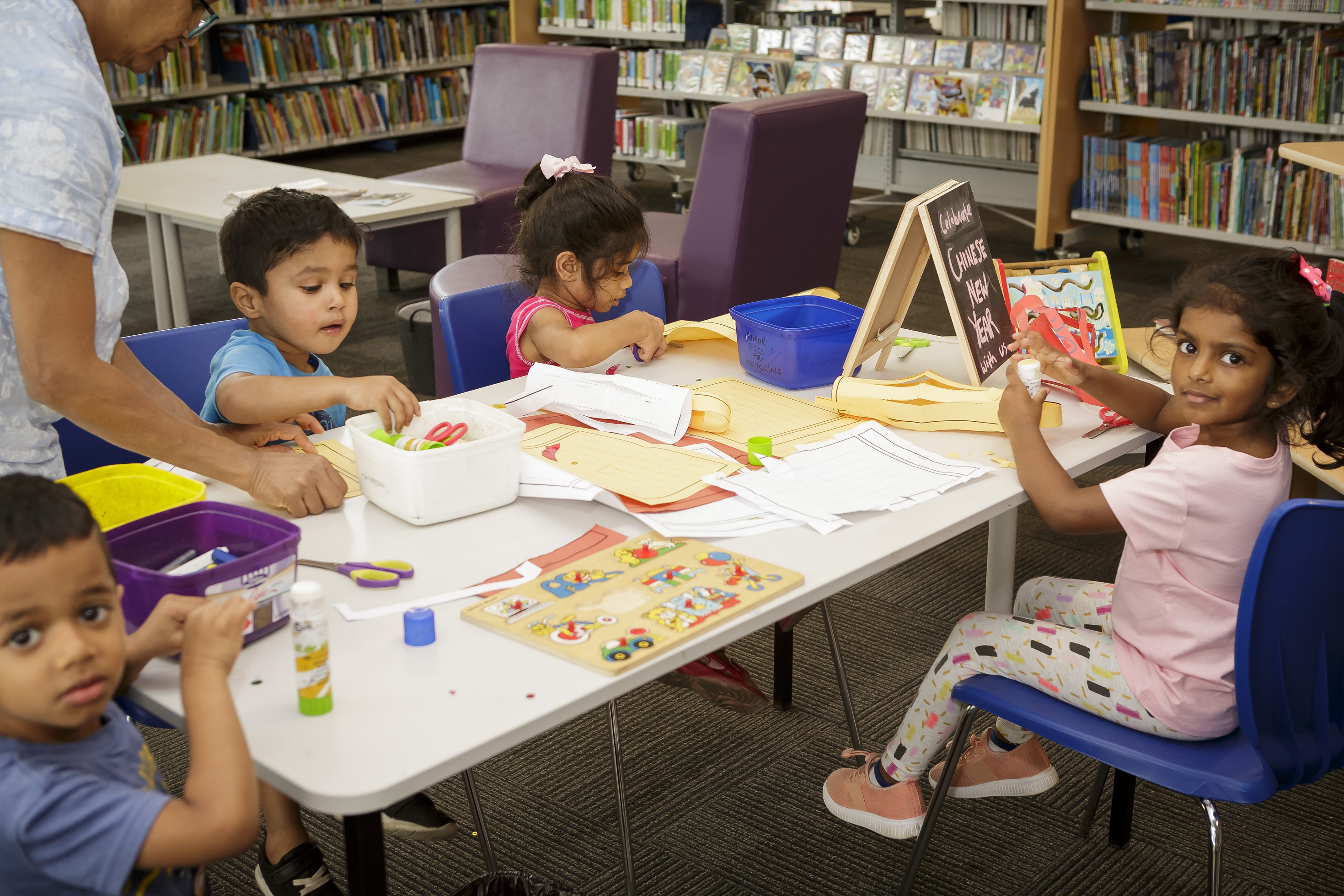 craft in the library