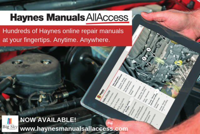 Haynes Manuals All  Access