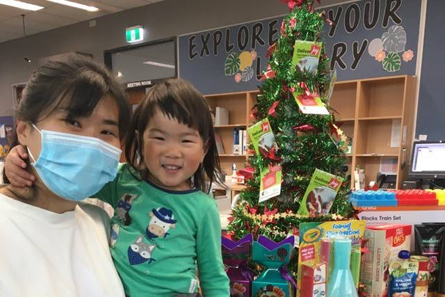 Residents 'Deliver Joy' to locals in need