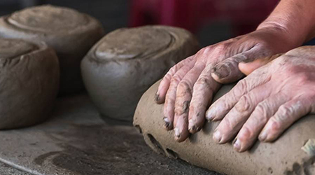 Sculpting with Air Dry Clay